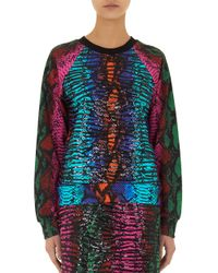House of Holland | Multicolor Embellished Sweatshirt Snake | Lyst
