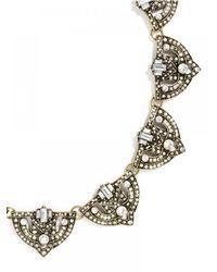 BaubleBar | White Crystal Zelda Collar | Lyst