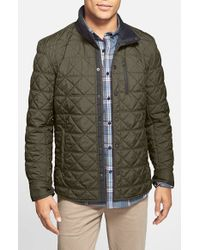 Victorinox - Green 'Bernhold' Quilted Thermore Insulated Jacket for Men - Lyst
