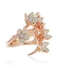 Shaun Leane - Pink Full Cherry Blossom Ring - Lyst