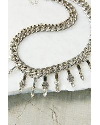 Urban Outfitters | Metallic Frosted Chainlink Necklace | Lyst