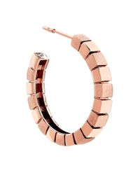 Links of London | Metallic Cubist Hoop Earrings | Lyst