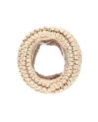 Forever 21 | Natural Purl Knit Snood | Lyst