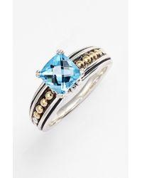 Lagos | Metallic 'prism' Stone Ring | Lyst