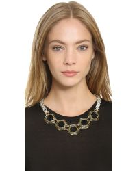 Lulu Frost - Blue Nicandra Hex Necklace - Lyst