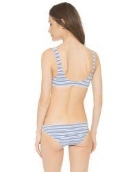 Lisa Marie Fernandez Blue Jasmine Bikini - Navy/white Stripe