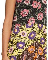 Marni Multicolor Asticon-Print Crepe Maxi Dress