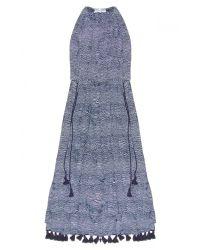 Apiece Apart Blue Lippard Dress In Earth Wave