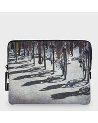 Paul Smith - Gray Cycle Shadow Print Ipad Case for Men - Lyst