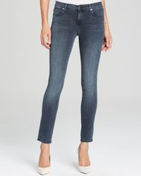J Brand Blue Jeans - 811 Mid Rise Skinny Photo Ready In Crush