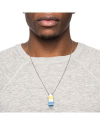 Lulu Frost - Blue George Frost Buoy Necklace - Lyst