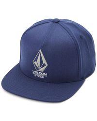 Volcom | Blue Men's Bevel Hat for Men | Lyst