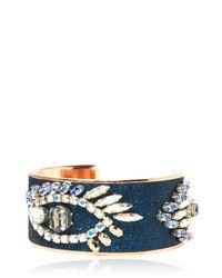 Bijoux De Famille Blue Magic Eye Cuff Bracelet
