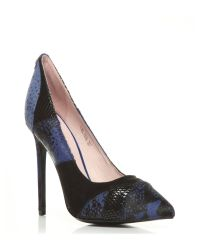 Moda In Pelle Blue Calida High Occasion Shoes