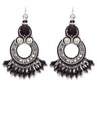 Butterfly - Black Dark Romance Earrings - Lyst