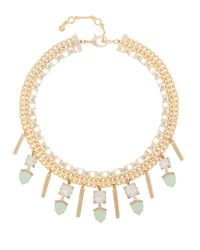 Henri Bendel | Green Duchess Gem Collar | Lyst