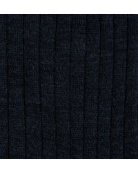 Sunspel - Black Men's Merino Cotton Socks for Men - Lyst