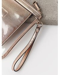 Free People - Womens Metallic Travel Case - Lyst