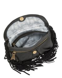 Aimee Kestenberg - Black Holly Fringed Leather Crossbody - Lyst