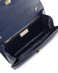 Ferragamo - Blue Ginny Vara Cross-Body Bag - Lyst