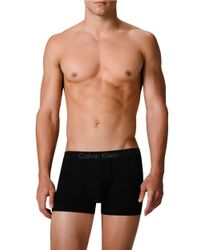 Calvin Klein | Black Body Trunks Set for Men | Lyst