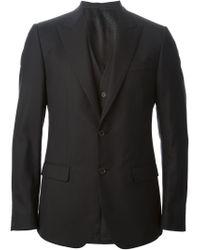 Dolce & Gabbana - Black Classic Three-piece Suit for Men - Lyst