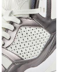 DKNY - White Cleo High Top Sneaker - Lyst