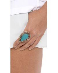 Samantha Wills Blue Bohemian Bardot Ring