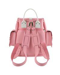 Grafea - Pink Candy Crush Medium Leather Rucksack - Lyst