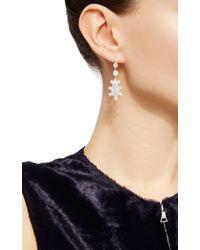Nina Runsdorf   Multicolor Lightning Ridge Opal Earrings   Lyst