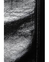 Jonathan Saunders Black Elina Vinyl Pencil Skirt