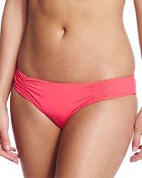 L*Space Orange Monique Full Bikini Bottom