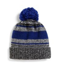 Saks Fifth Avenue | Gray Marled Knit Wool-blend Hat for Men | Lyst