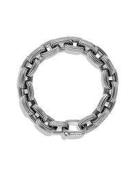 David Yurman | Metallic Royal Cord Large Link Bracelet for Men | Lyst