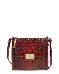 Brahmin | Brown 'melbourne - Mimosa' Crossbody Bag | Lyst