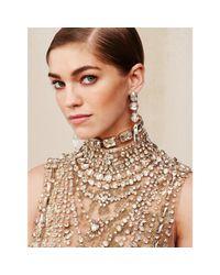 Pink Pony | Metallic Emerald-cut Swarovski Necklace | Lyst