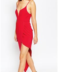 Ginger Fizz | Red Asymmetric Dress | Lyst