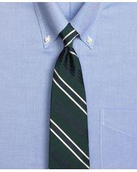 Brooks Brothers - Green Quad Stripe Tie for Men - Lyst