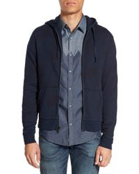 Original Penguin | Blue 'p55' Print Zip Hoodie for Men | Lyst