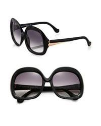 Balenciaga | Black Oversized Vintage Square Sunglasses | Lyst