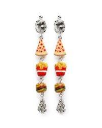 Venessa Arizaga - Multicolor 'snack Attack' Drop Earrings - Lyst