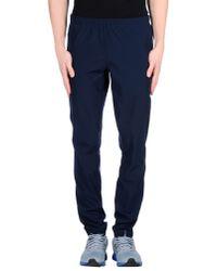Reebok | Blue Casual Trouser for Men | Lyst