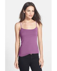 Halogen | Purple Absolute Stretch-Jersey Camisole | Lyst