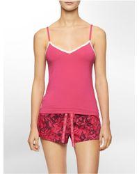 Calvin Klein - Multicolor Underwear Holiday Print Pajama Gift Set - Lyst