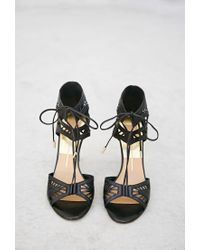 Forever 21 - Black Dolce Vita Henlie Sandals - Lyst