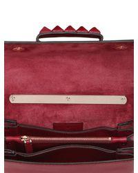 Valentino Red Vavavoom Soft Leather Shoulder Bag