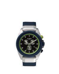 Nixon Blue 'rover Chrono' Watch for men