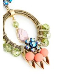 J.Crew | Multicolor Neon Pop Statement Earrings | Lyst