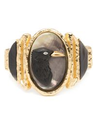 Alexis Bittar | Black Hand Carved Raven Cameo Hinge Bracelet You Might Also Like | Lyst