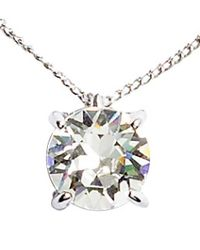 H&M | Metallic Crystal Pendant Necklace | Lyst